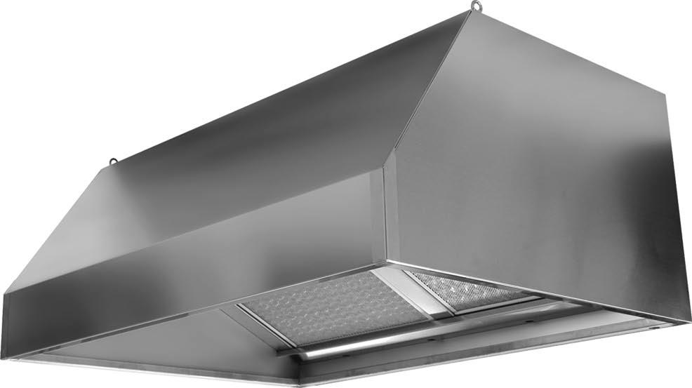 Cappe ai carboni attivi parete : Attrezzature per pizzerie e ...