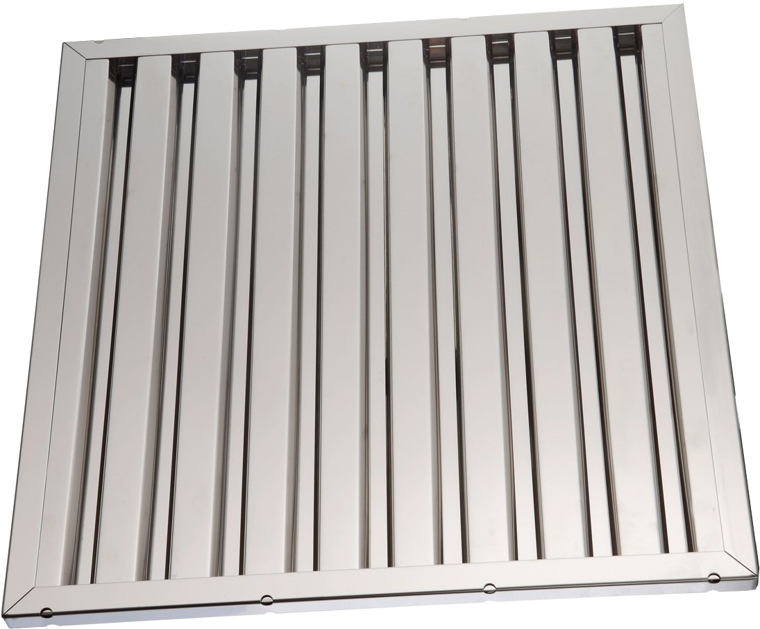 Labyrinth filters for hoods Stainless Steel 40x40x2