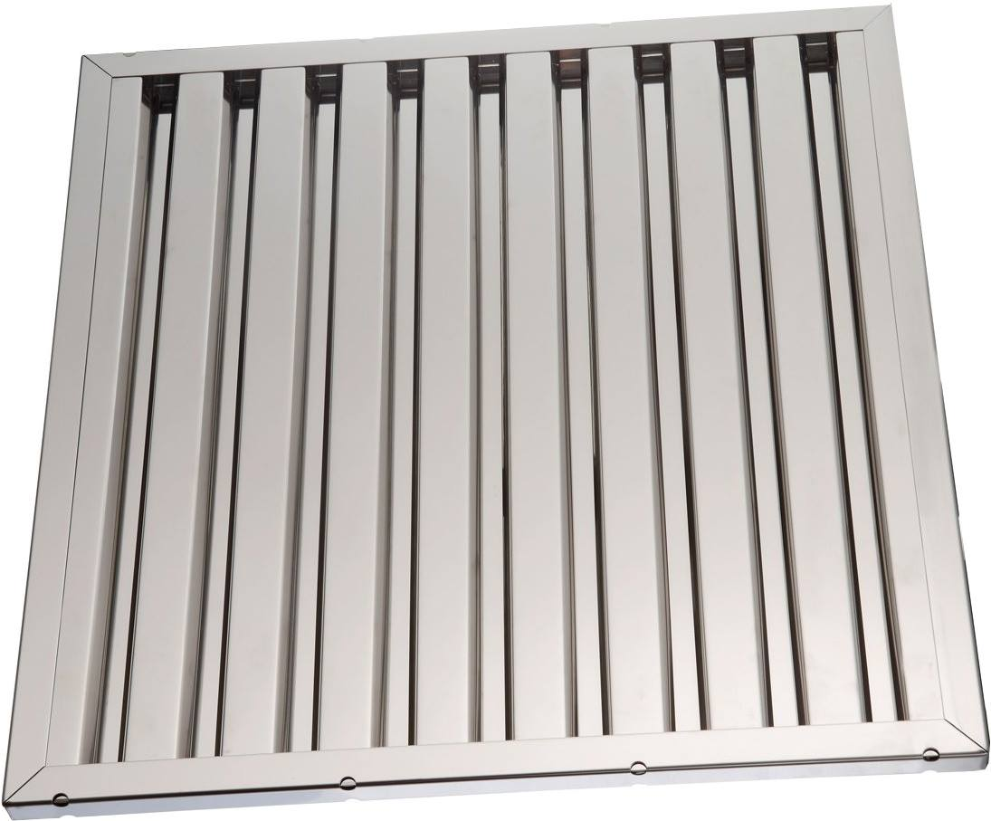 Labyrinth filters for hoods Stainless Steel 50x50x2